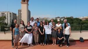Das Abschlussmeeting des Projektes Cyberhelp vom 09.-12.06.2015 in Valencia.
