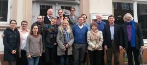 Das Projekt-Team beim Kick-Off-Meeting in Lüneburg – gemeinsam mit dem Schirmherrn Eckard Pols